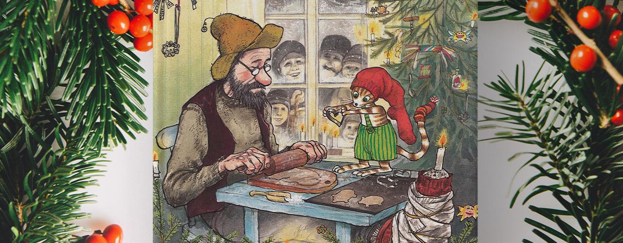 Pettersson kriegt Weihnachtsbesuch (c) Oetinger Verlag